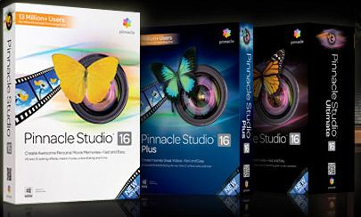 Pinnacle Studio 16.